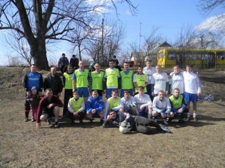 Підготовка до сезону фаворитів районного сезону 2011